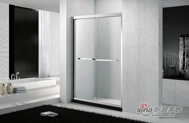百德嘉卫浴淋浴屏风H431720