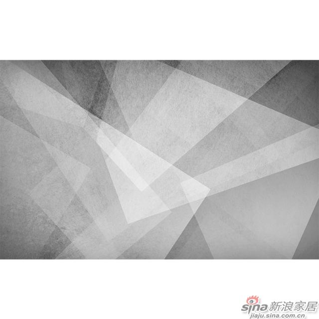 光影变奏_光影交织几何灰色壁画简欧风格背景墙_JCC天洋墙布-1