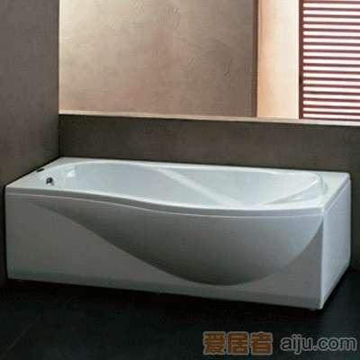 法恩莎双裙浴缸-F1700SQ(1700*860*600MM)1