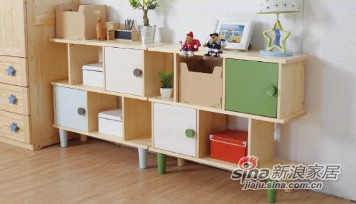 多喜爱实木储物柜-1