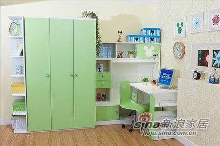 迪士尼儿童彩色家具-时尚米奇书桌-0