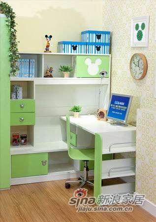 迪士尼儿童彩色家具-时尚米奇书桌-1
