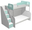 迪士尼米奇高低床(梯柜)