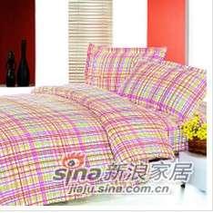 紫罗兰家纺床上用品全棉印花四件套多彩人生PCKFT64-4-0