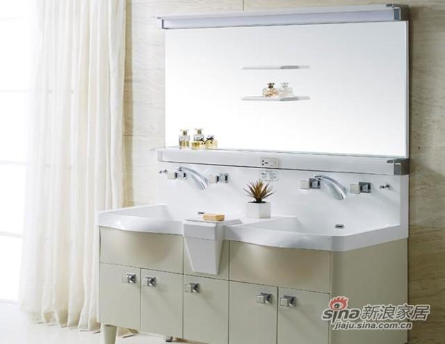 席玛浴室柜双盆2014A-1300-1