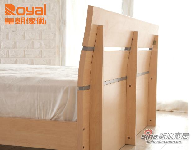 皇朝家私现代简约板式床-1
