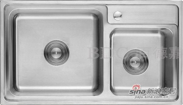 百德嘉五金龙头挂件-H762014不锈钢多功能水槽-0