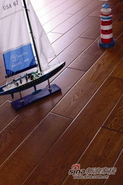 富得利实木地板(欧洲橡木)爱情海霞光FA-0141-R 仿古XD-0