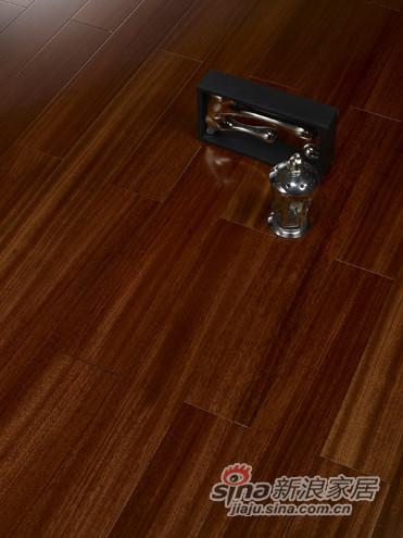 【永吉地板】实木复合平面——水榭花都 圆盘豆原生态色