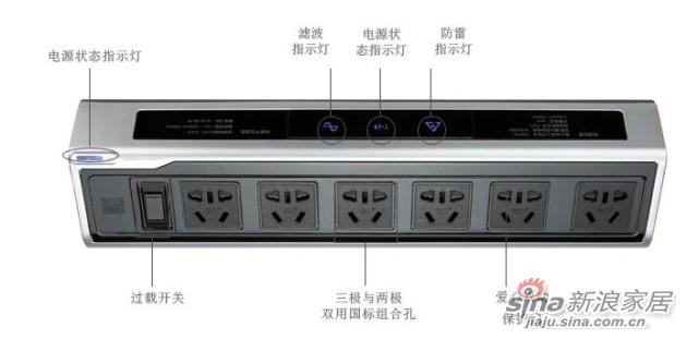 突破智能插座TZ-C1041-1