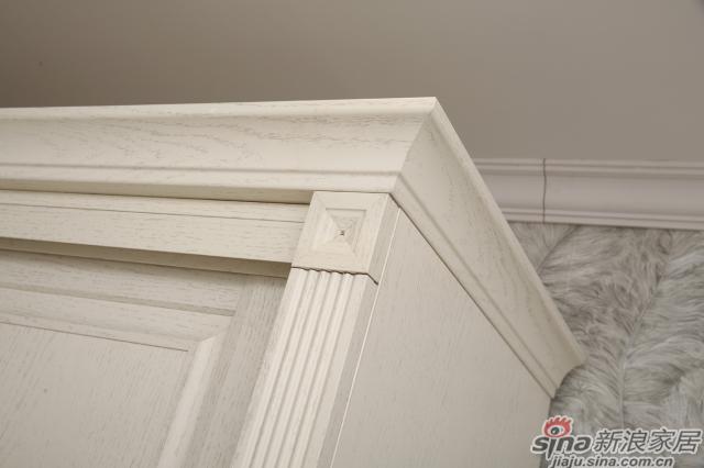移门衣柜1颜色:英伦白橡 移门:2601英伦白橡转化条平板+倾世1号