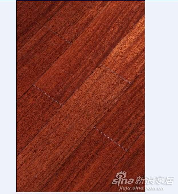 上臣栗褐榄仁15-G-4实木地板 -0