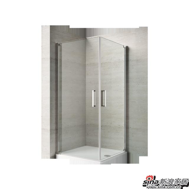 恒洁卫浴淋浴房HLG07F22