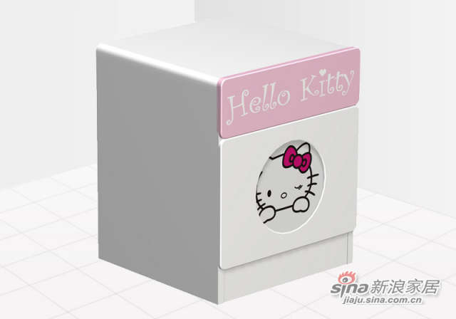 Hello Kitty百变HELLO KITTY床头柜
