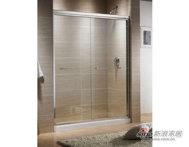 科勒-Parallel™ 派乐非标移门淋浴房(不含置物架)-0