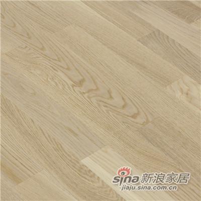 德合家BEFAG三层实木复合地板B55623斯德哥尔摩风格三拼橡木-1