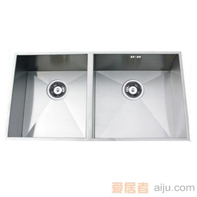 GORLDE优质不锈钢水槽/洗菜池SQ系列SQ08(双方盆)1