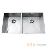 GORLDE优质不锈钢水槽/洗菜池SQ系列SQ08(双方盆)