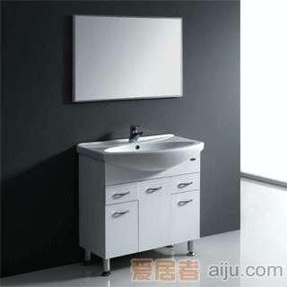 法恩莎PVC浴室柜(柜盆)FP3637(810*525*225mm)1
