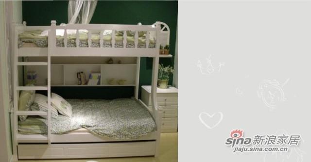 【新干线】板木亲子子母床双层青少年床上下床铺二层组合床家具-0
