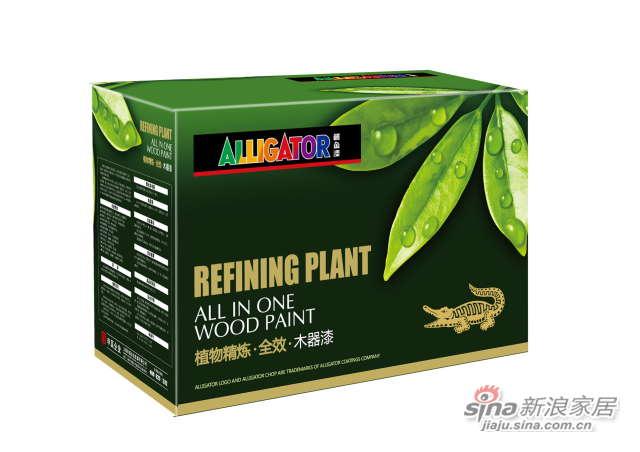 鳄鱼植物精炼全效木器漆(QQ500,900)