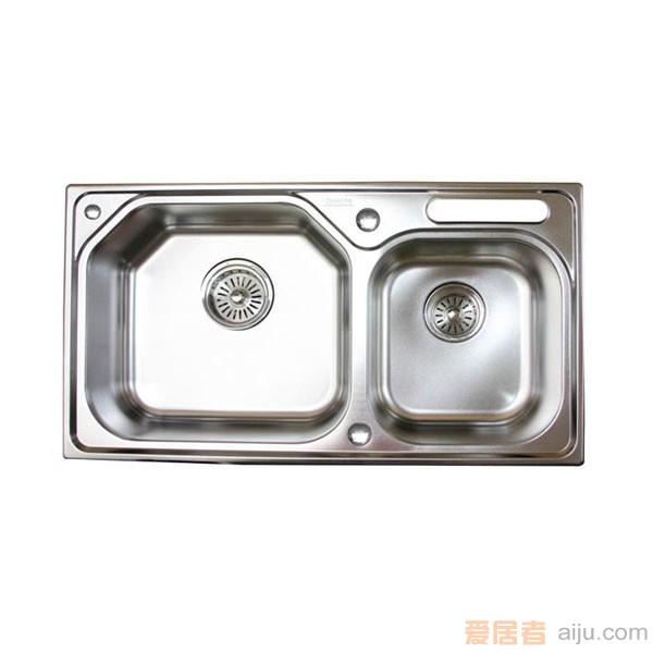 GORLDE优质不锈钢水槽/洗菜池 欧雅系列OY01(大小盆)1