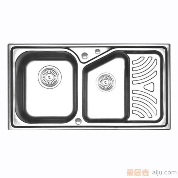GORLDE优质不锈钢水槽/洗菜池 巴赫系列2103FY(深翼盆)1