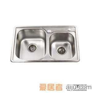 御象双盆水槽--6011