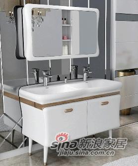 安华卫浴实木浴室柜anPGM33019G