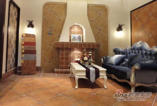 金意陶瓷砖欧式仿古砖复古地砖-2