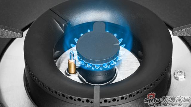 亮点5:内环稳焰槽,小火稳定不易熄灭
