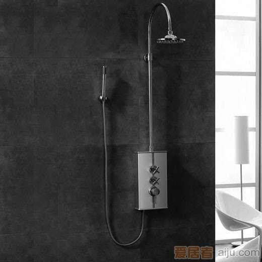 英皇纯铜镀�t淋浴柱X11