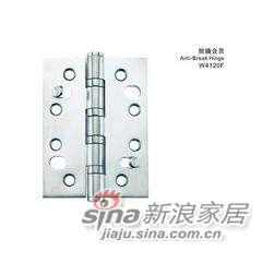 雅洁AW4120F-4x3x2.5不锈钢防橇合页+拉丝-0