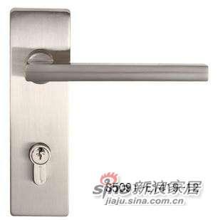 雅洁AS5091A-E1419-12插芯门锁+尼龙镍-0