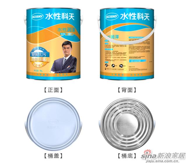水性润泽金装内墙乳胶漆5L-11