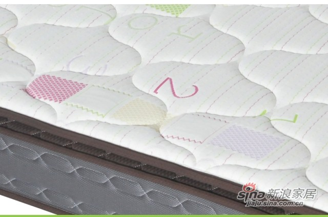 七彩人生 独立袋装弹簧儿童床垫-3