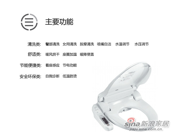 智能便盖 HD1160H