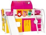 丹麦芙莱莎儿童家具中高床组合MAGGY2(白色)