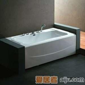 法恩莎五件套单裙浴缸-F1529Q(1500*820*580MM)1