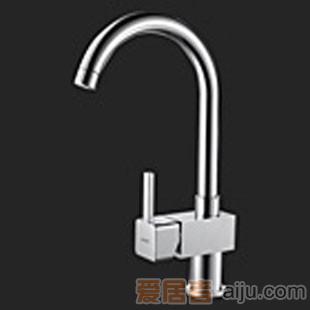 惠达-单柄厨房水龙头-HD154XH1
