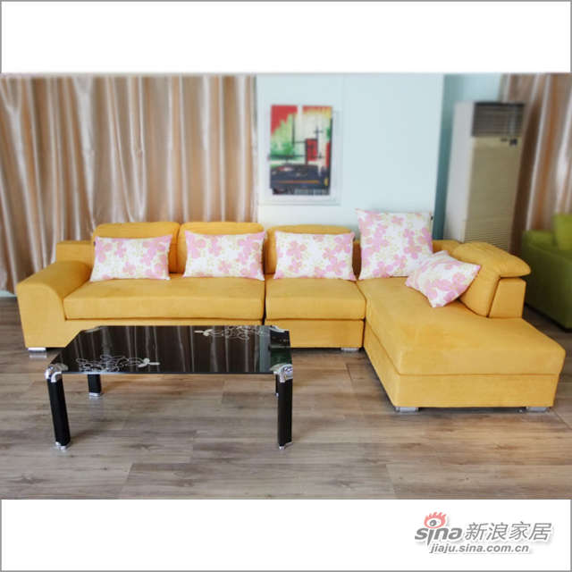 CS117 转角 沙发 客厅 时尚软件家具 佰宜家居