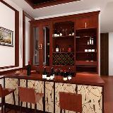 新中式 酒柜