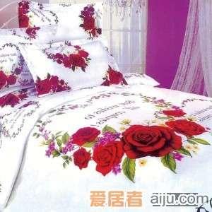 家元素床上用品-浪漫花都四件套(纯棉)-HQ20000011
