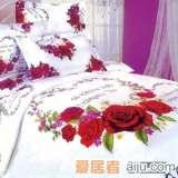 家元素床上用品浪漫花都四件套(纯棉)HQ2000001