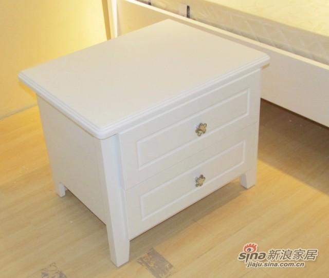 【新干线】板式收纳/储物/带抽屉/床头柜-1