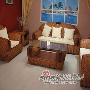 凰家御器藤椅豪华沙发高档沙发组合NH-Y804-0