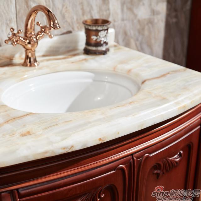 阿洛尼浴室柜-欧式仿古柜-A1809-1