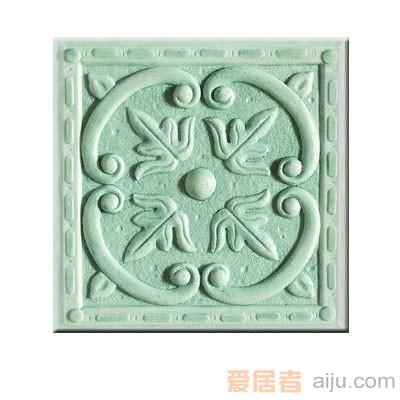 嘉俊-艺术质感瓷片[城市古堡系列]DD1503C1W(150*150MM)1