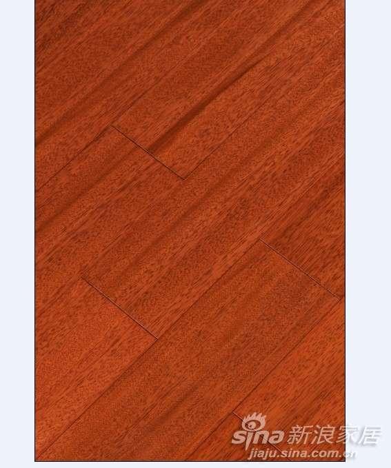上臣栗褐榄仁15-G-2实木地板 -0