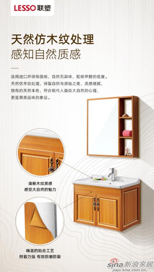 联塑铝合金浴室柜-3